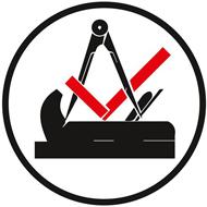 Logo Qualifizierungsmaßnahme im Tischlerberuf